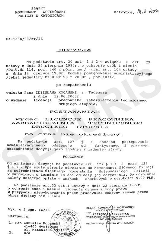 sekuris_licencja